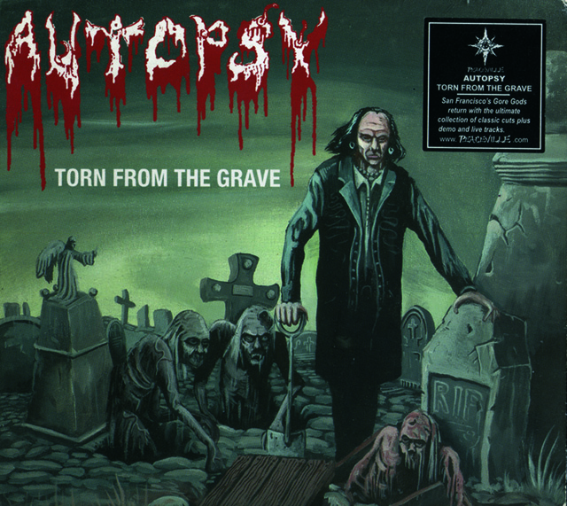 Autopsy Torn from the grave CD_kansimaalaus